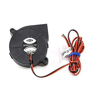 ESden DC12V Ultra-silencioso Radial Turbo Ventilador de ...