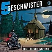 Im unterirdischen Labyrinth (5 Geschwister 14) | Tobias Schier