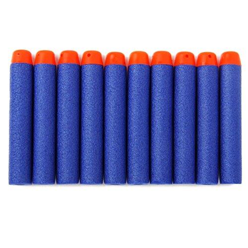 200pcs Darts für Nerf N-Strike Foam Darts Refill Bullets für Nerf N-Strike Elite Series Blasters Kinder Spielzeug Gun (Blau)