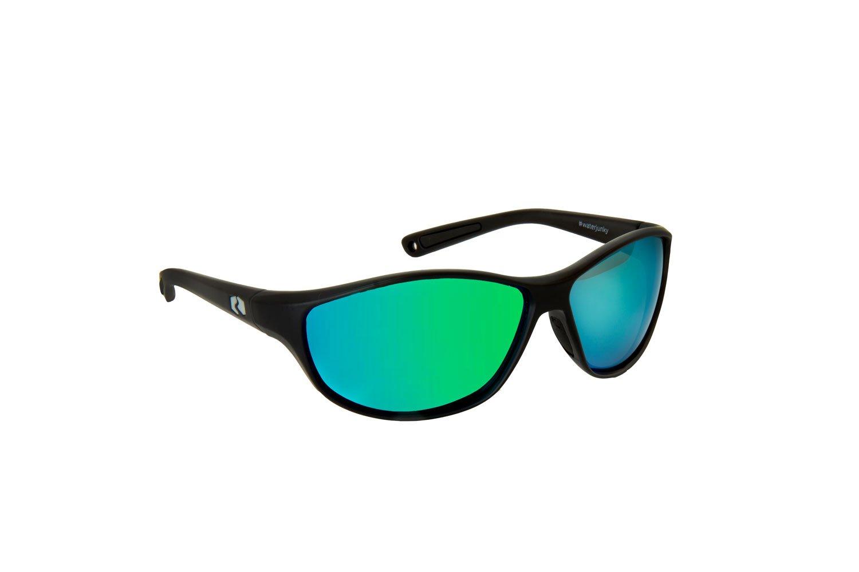 Floating Polarized Sunglasses: Bahias | Gunmetal | Emerald