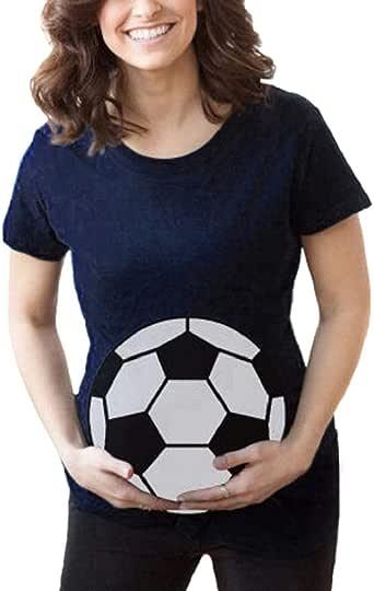 Camiseta de Las Mujeres Embarazadas Fotografia SHOBDW Blusa De ...