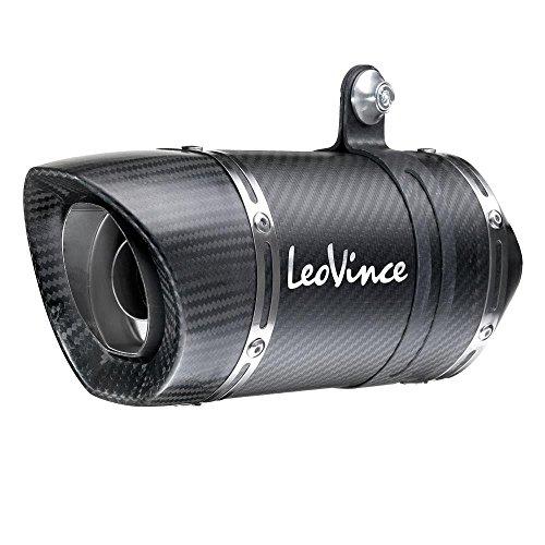 Leo Vince Racing Slip Ons (Leo Vince LV One Evo Slip-On - Carbon Fiber Muffler 14125E)