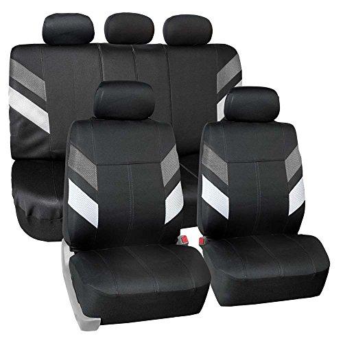 FH Group FB086115 Modern Edge Neoprene Seat Covers, Airbag &