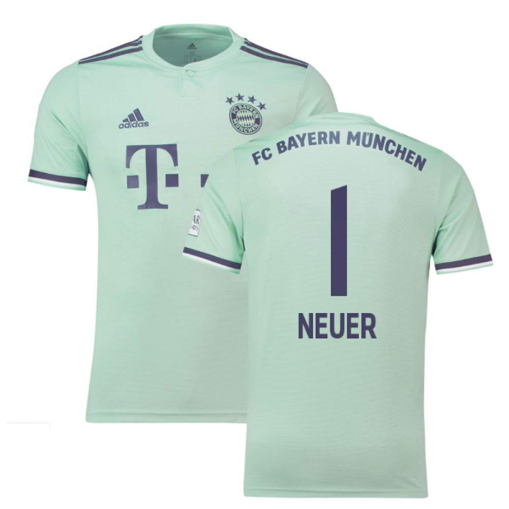 2018-19 Bayern Munich Away Football Soccer T-Shirt Trikot (Manuel 1) - Kids