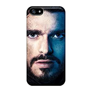Anti-scratch And Shatterproof Game Of Thrones Robb Stark Phone Case For Iphone 5/5s/ High Quality Tpu Case