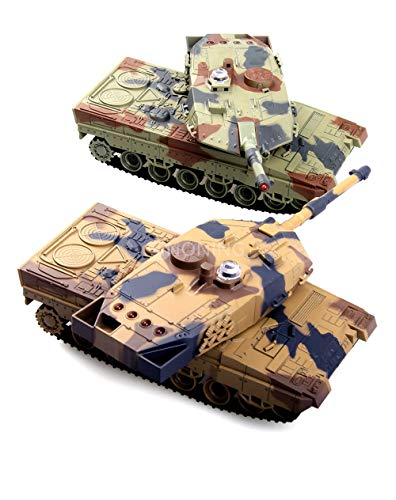 - 2.4G Battle Tank Rechargeable battery RC Russia Tanks Gift