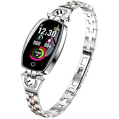 Novopus smart wristband Fashion lady Intelligent Color Bracelet heart rate and blood pressure exercise mode sleep monitoring bracelet waterproof IP67 Estimated Price £66.00 -