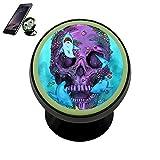 PG-Gai Magnetic Phone Car Mount Holder Skull Shark 360 Rotation Universal Magnetic Luminous Mobile Phone Holder