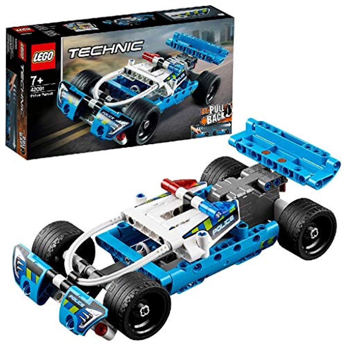 [해외] 레고(LEGO) 테크닉 추적 경찰차 42091 교육 완구 블럭 장난감 사내 아이차