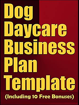 Amazon dog daycare business plan template including 10 free print list price 999 wajeb Images