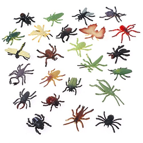 Assorted Color Design Insect 1 Pack