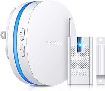 Minger Wireless Door Open Sensor Alarm with LED Indicators