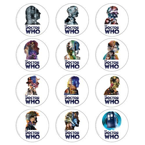 - Doctor Who 50th Anniversary Coasters Set of 12