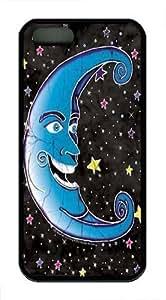 Batik Moon Custom iPhone 5s/5 Case Cover TPU Black by icecream design