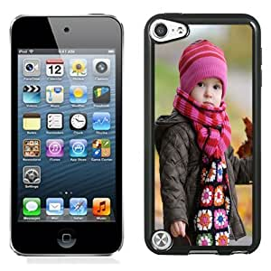 New Personalized Custom Designed For iPod Touch 5th Phone Case For Cute Baby In Winter Phone Case Cover