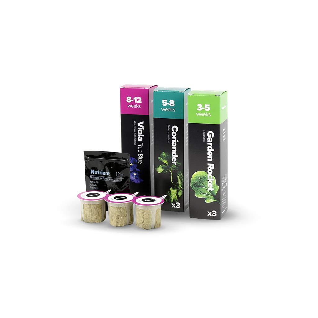 Capsules De Graines pour herbes Plantui Smart Garden Roquette Sauvage 3x