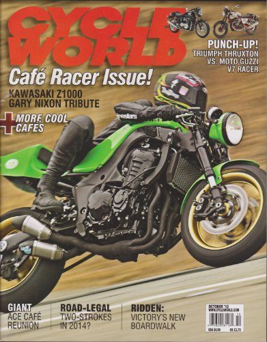 Cycle World Magazine (October 2012) (Best Motorcycle Rides In Texas)