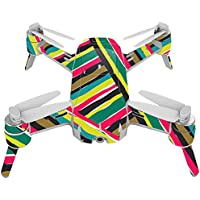 Skin For Yuneec Breeze 4K Drone – Split Color | MightySkins Protective, Durable, and Unique Vinyl Decal wrap cover | Easy To Apply, Remove, and Change Styles | Made in the USA