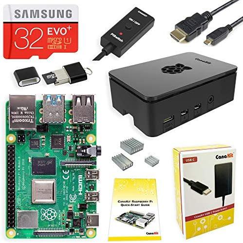 CanaKit Raspberry 4GB Starter Kit product image