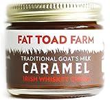 Fat Toad Farm Traditional Goat's Milk Caramel Sauce, Irish Whiskey Cream, 2fl oz Jar, Cajeta, Gluten Free