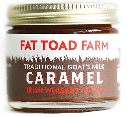 - Fat Toad Farm Traditional Goat's Milk Caramel Sauce, Irish Whiskey Cream, 2fl oz Jar, Cajeta, Gluten Free
