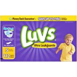 Health & Personal Care : Luvs Ultra Leakguards Diapers - Size 5-112 ct