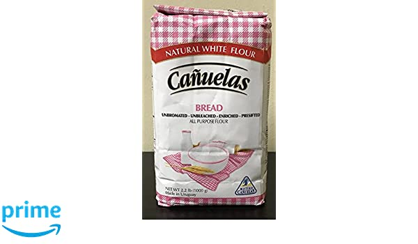 Amazon.com : CAÑUELAS All Purpose Flour (Bread)  000 : Grocery & Gourmet Food
