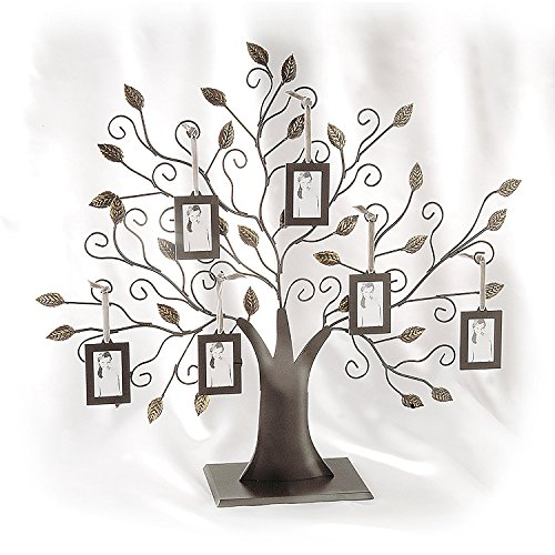 Family Tree w/6 Hanging Picture Frames - Family Tree w/6 Hanging Frames - Pic.