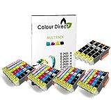 28 (4 Sets + 4 Black ) Colour Direct Compatible Ink Cartridges Replacement For Epson Expression Photo XP-55 XP-750 XP-760 XP-850 XP-860 XP-950 XP-960 24XL