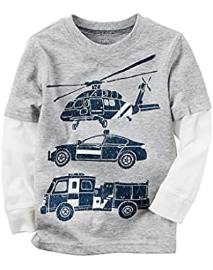 Carter's Baby Boys' Rescue Car Tee