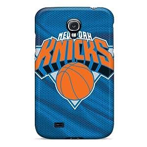 Samsung Galaxy S4 QMu7067nhol Allow Personal Design Attractive New York Knicks Image Shock-Absorbing Hard Phone Cases -SherieHallborg