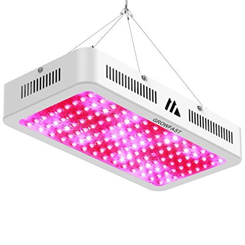 LED Grow Light, 1500W Double Chips Full Spectrum Indoor Plant Grow Lights Kit for Greenhouse and Medicinal Plants Growth Indoor Veg and Flower Growing (10W Leds 150 pcs) by Growfast