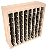 Wine Racks America Ponderosa Pine 64 Bottle Deluxe. 13 Stains to Choose From!