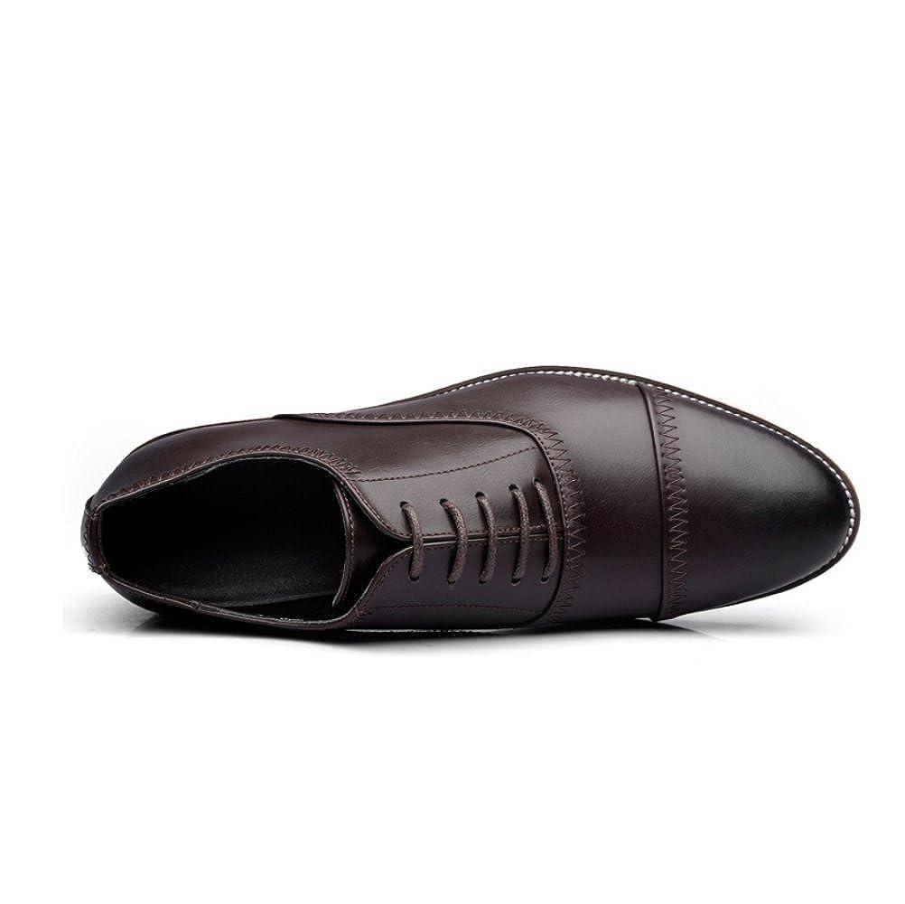 Frühlings-Mann-Geschäfts-Leder-Schuh-Steigung-Breathable Ochse Schnitzte Die Schuhe der der der Männer Zufällige Schuhe e250b9