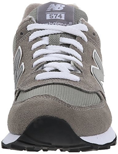 New Balance Womens W574 Classic Fashion Sneaker Grijs