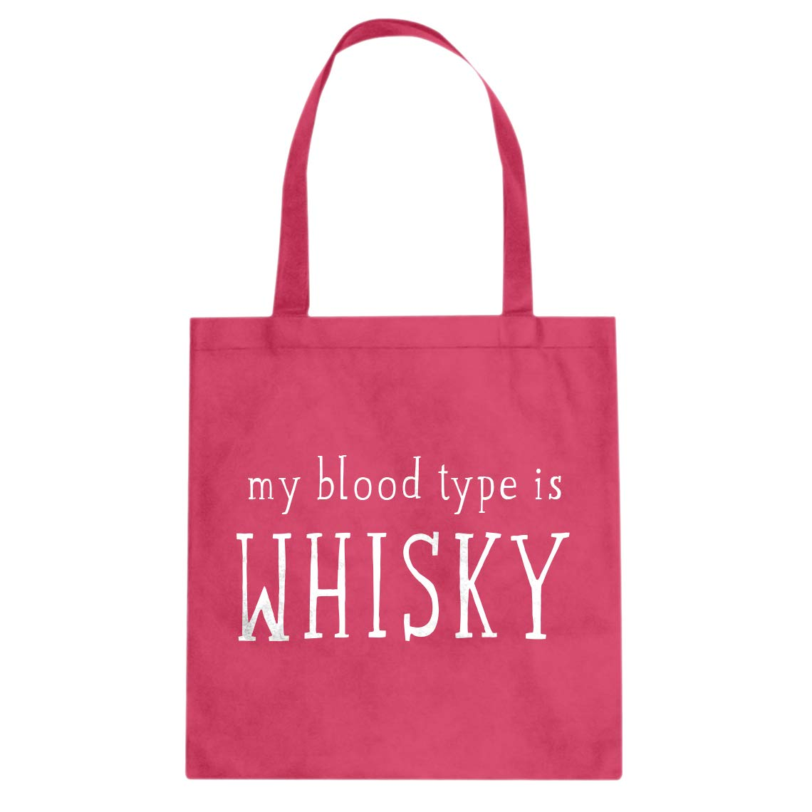 Indica Plateau My Blood Type is Whisky Cotton Canvas Tote Bag