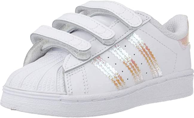 Zapatillas de Gimnasia Unisex Ni/ños adidas Originals Superstar CF