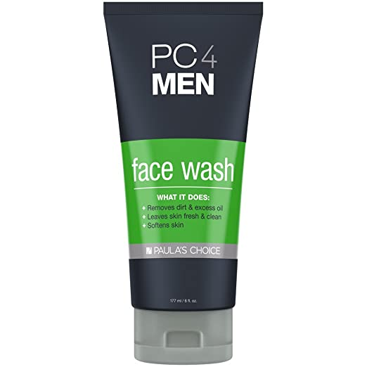 Paula's Choice PC4MEN Face Wash with Aloe for Men - All Skin Types - 6 oz