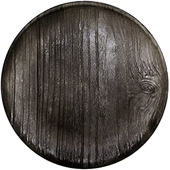 MADHOUSE by Michael Aram 12-Count Translucent Black Dinner Plate, Twig