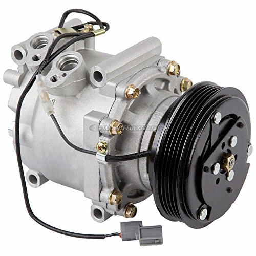 AC Compressor & A/C Clutch For Honda Prelude 1993 1994 1995 1996 - BuyAutoParts 60-01268NA NEW