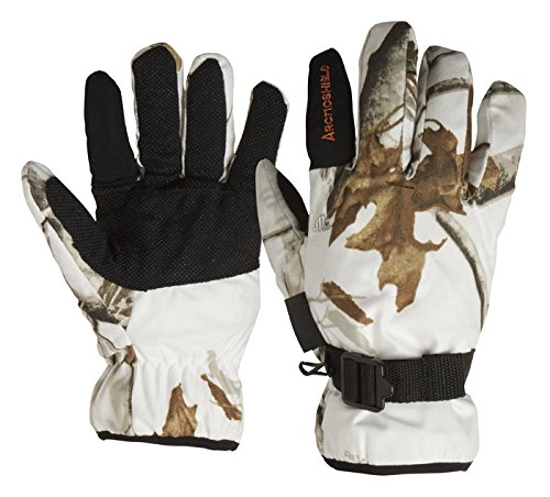 Arctic Shield Camp Glove Realtree All Purpose Snow Camo (Large)