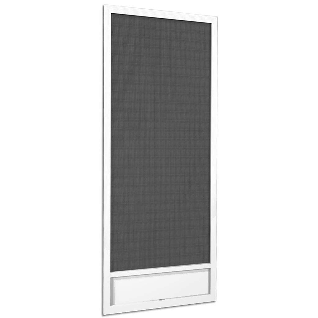 Still Waters White Aluminum Screen Door (80x36) by PCA Products (Image #3)