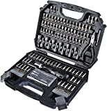 AmazonBasics 151-piece Screwdriver Bit Set with Durable Sandblasted Steel Bits