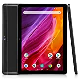 Dragon Touch K10 Tablet, 10 inch Android Tablet with 16 GB Quad Core Processor, 1280x800 IPS HD Display, Micro HDMI, GPS, FM, 5G WiFi (Black)