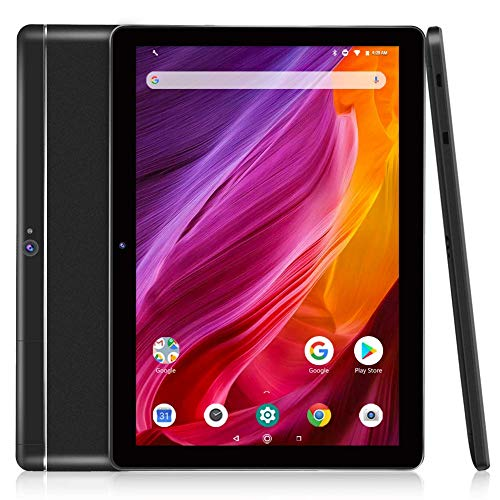 Dragon Touch 10 inch Tablet, 2GB RAM 16GB Storage, Quad-Core Processor, 10.1 IPS HD Display, Micro HDMI, 2019 Android Tablets K10 5G Wi-Fi, Metal Body Black (Best Android Os For Tablet)