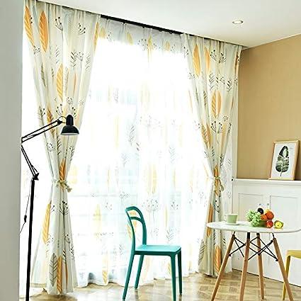 JUN Tende di lusso Stoffa per camerette semi-oscuranti, camera da ...
