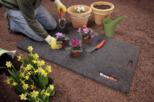 Bedrug TW2X4MAT TrailerWare Charcoal Grey 2 x 4 Folding Track Mat
