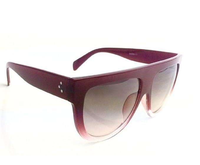 Qissy Damen Herren Modisch Designer Sonnenbrille Polarisierte Aviator Brillen (Schwarz Gradient) LXKJNEnnB