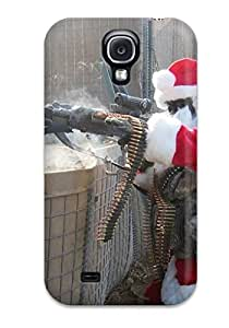 High Quality Shock Absorbing Case For Galaxy S4-santa Soldier