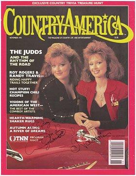 - Naomi & Wynona Judd magazine cover Personalized: Rodney